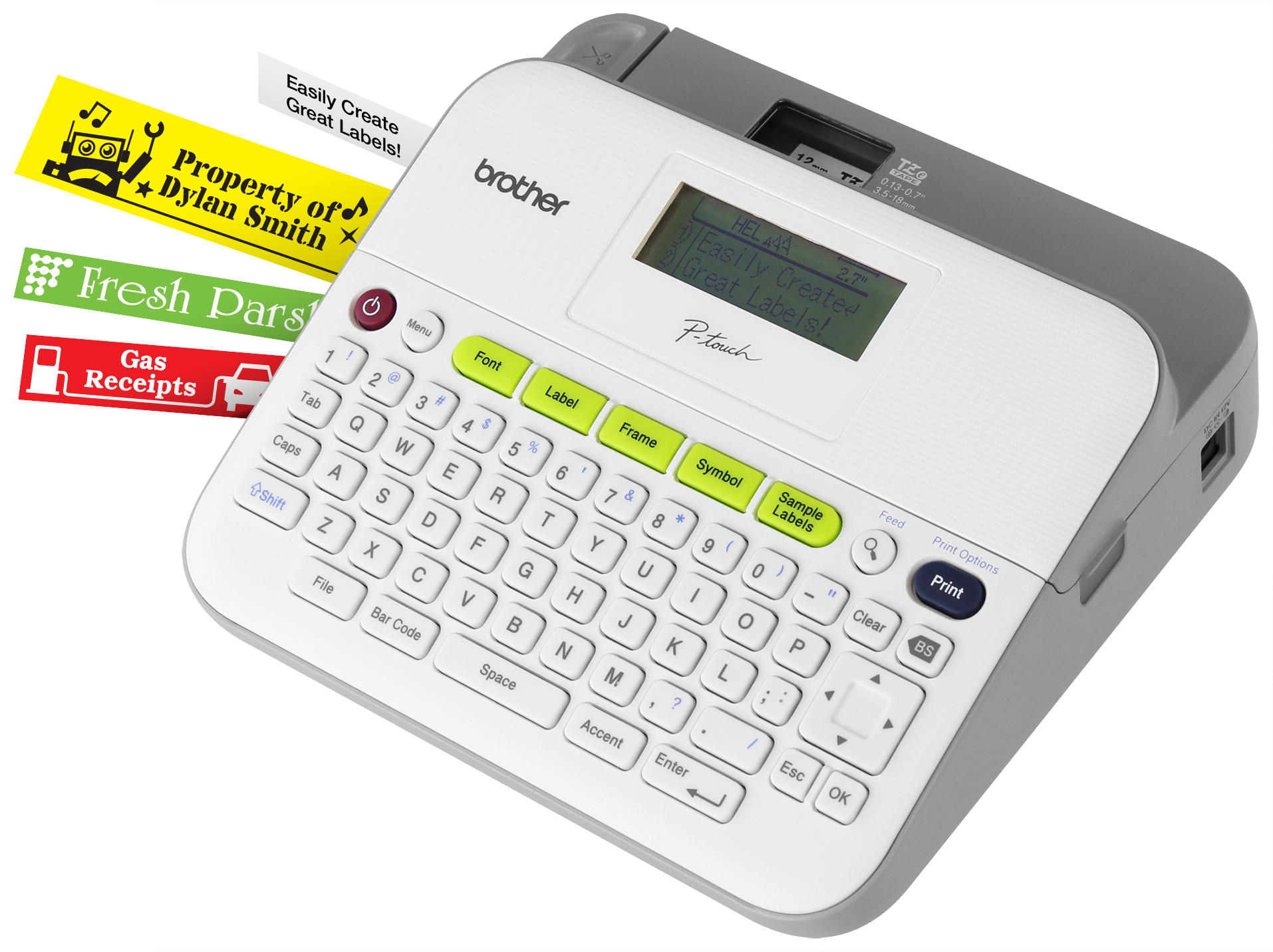 Brother PT-D400VP Mono Label Printer, New (PT-D400VP)
