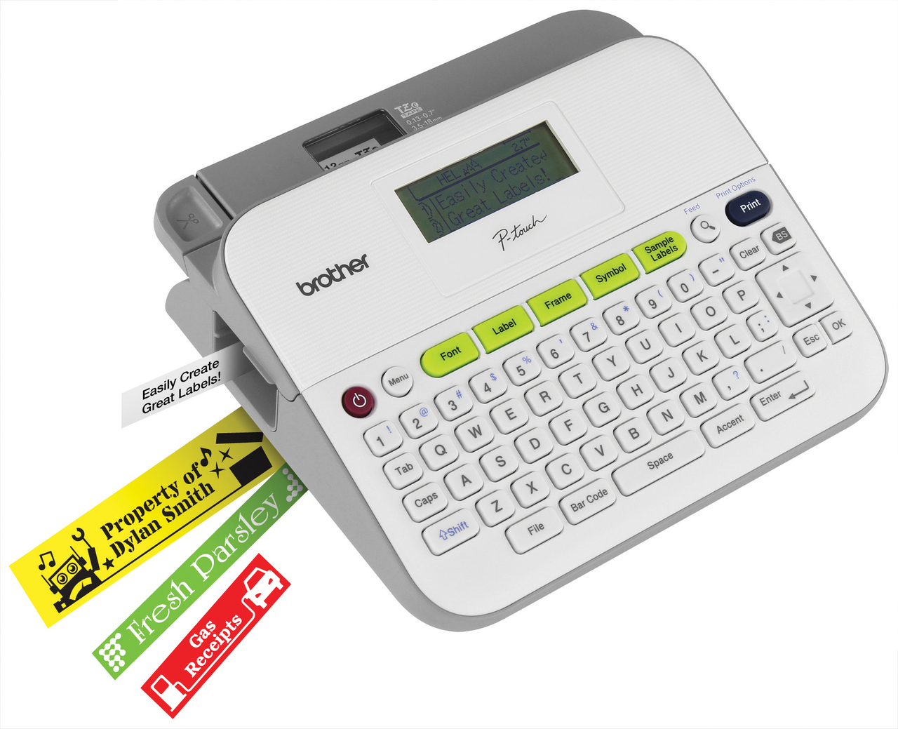 Brother PT-D400AD Mono Label Printer, New (PT-D400AD)