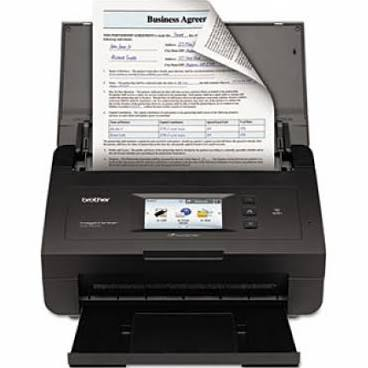Brother ImageCenter ADS-2500W Scanner, Fully Refurbished (ADS-2500W)
