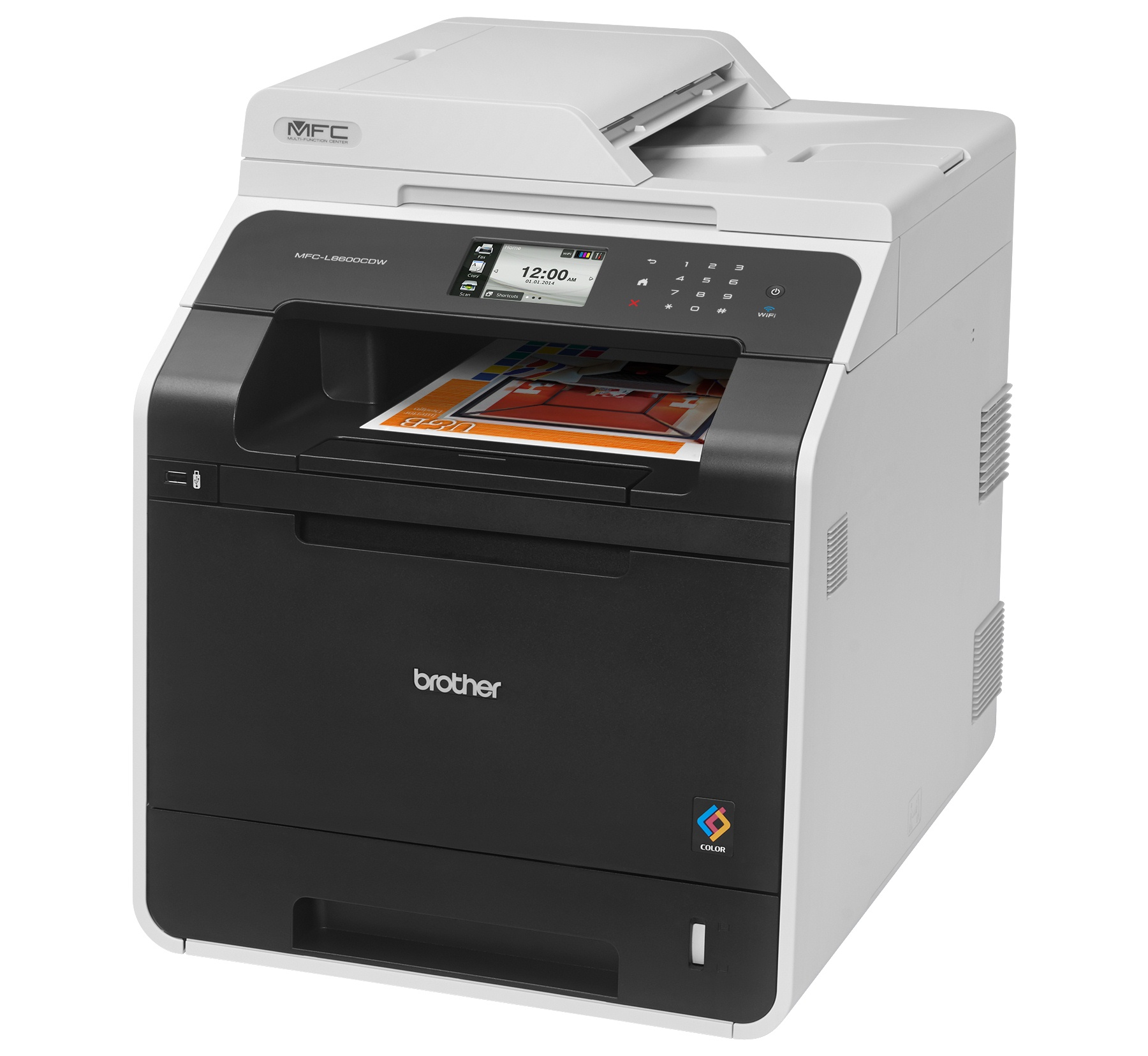Brother MFC-L8600CDW Color Laser MFP, Fully Refurbished (MFC-L8600CDW)