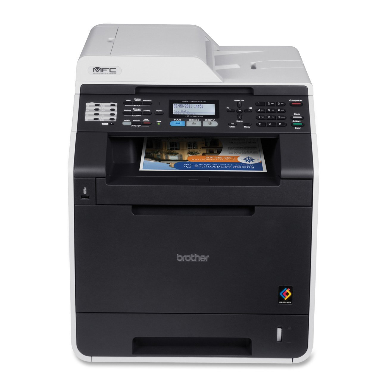 Brother MFC-9560CDW Color Laser MFP, Fully Refurbished (MFC-9560CDW)