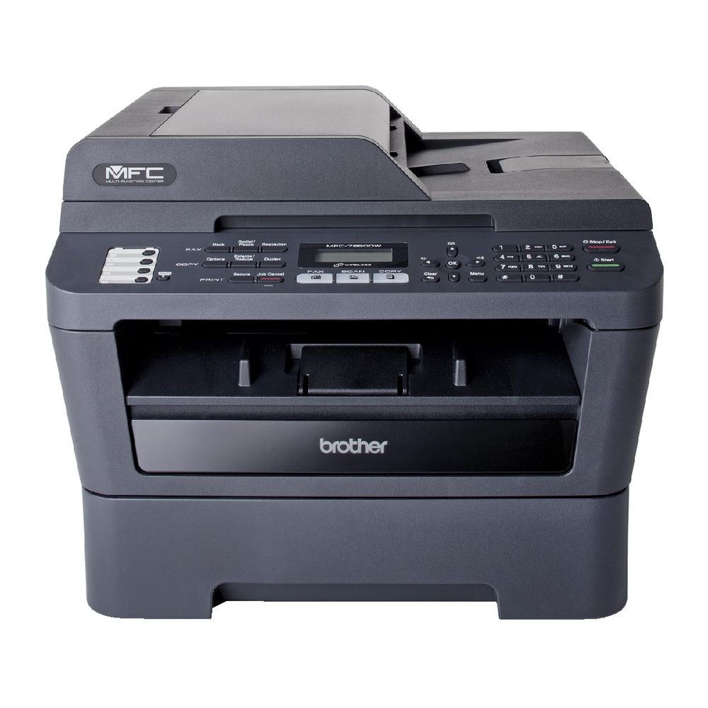 Brother MFC-7860DW Mono Laser MFP, Fully Refurbished (MFC-7860DW)