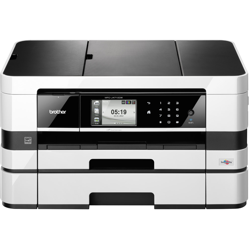 Brother MFC-J4710DW Color Inkjet MFP, Fully Refurbished (MFC-J4710DW)