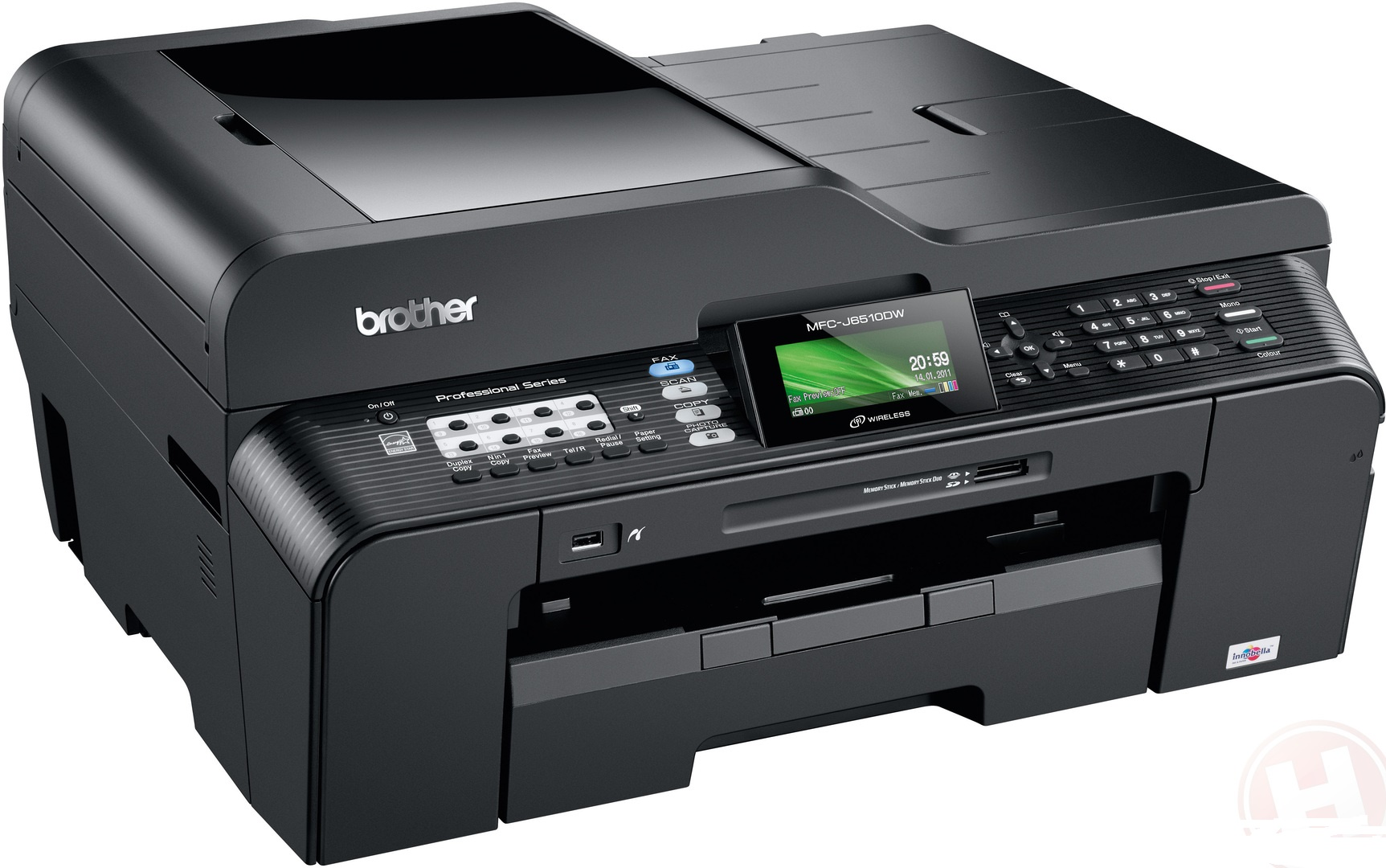 Brother MFC-J6510DW Color Inkjet MFP, Fully Refurbished (MFC-J6510DW)