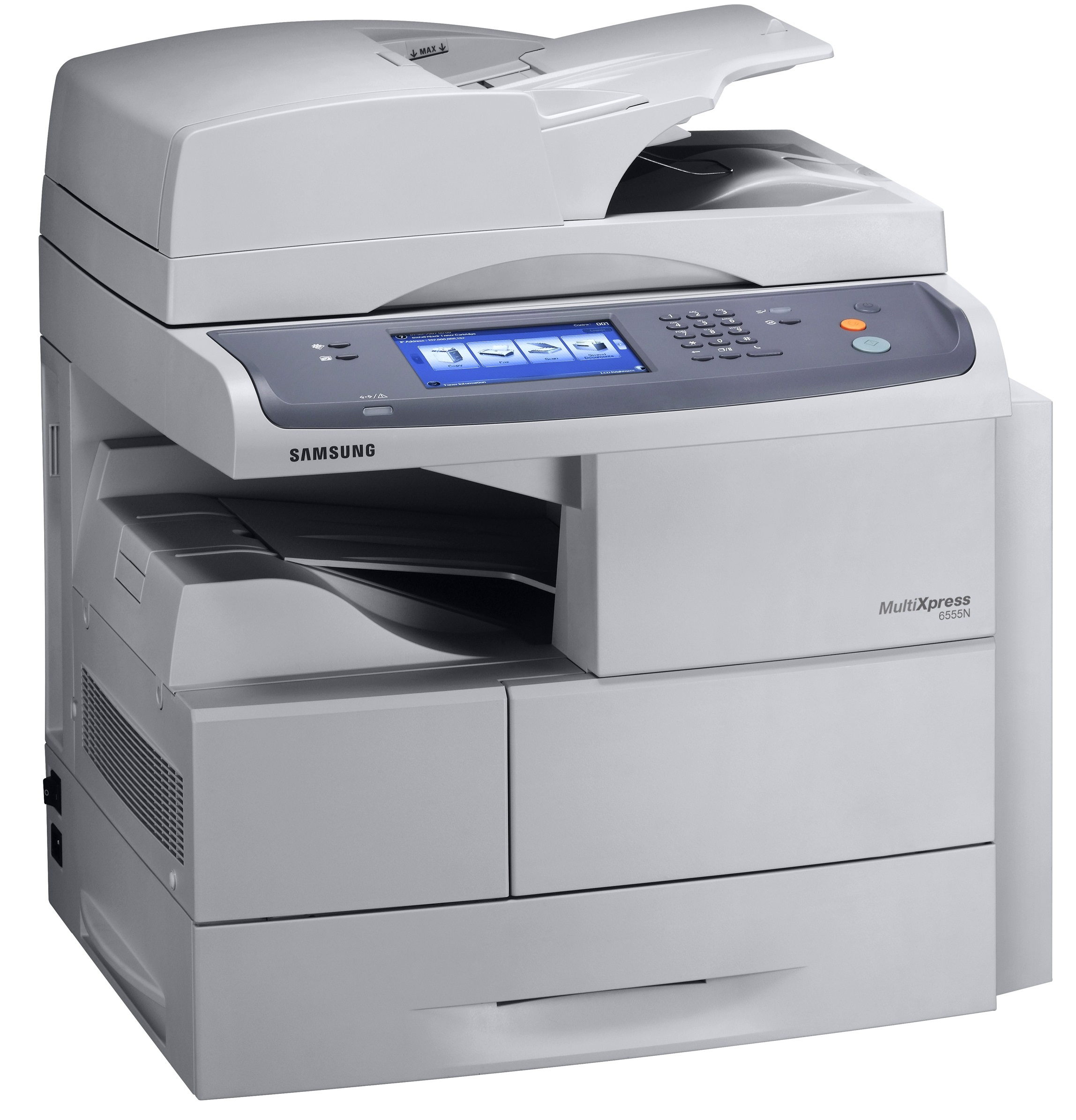 Samsung MultiXpress SCX-6555N Mono Laser MFP, Fully Refurbished (SCX-6555N)