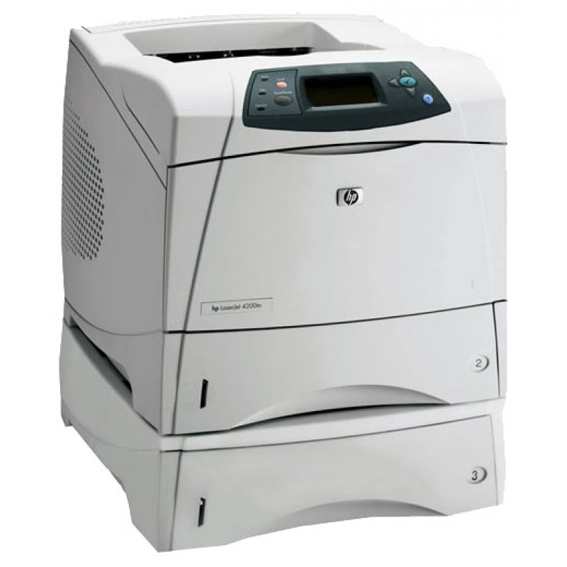 HP LaserJet 4200dtnsL Mono Laser Printer, Refurbished (Q2447A)