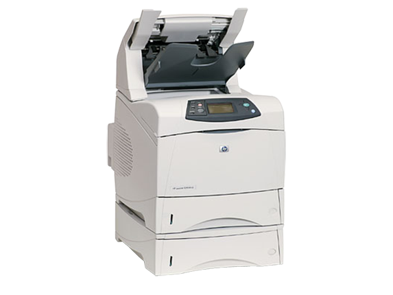 HP LaserJet 4350dtnsl Mono Laser Printer, Refurbished (Q5410A)