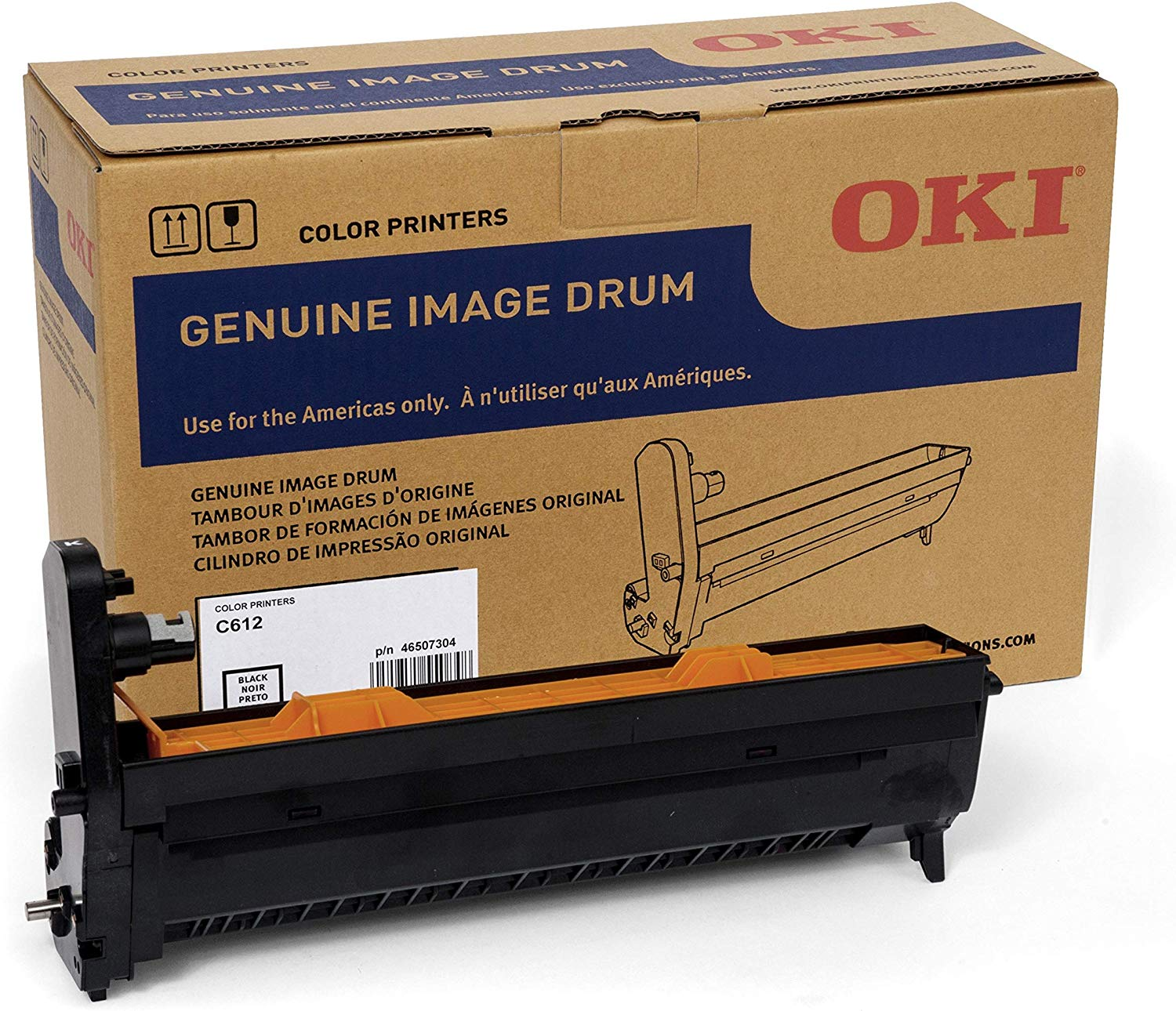 Okidata Image Drum - Black, 46507304 (46507304)