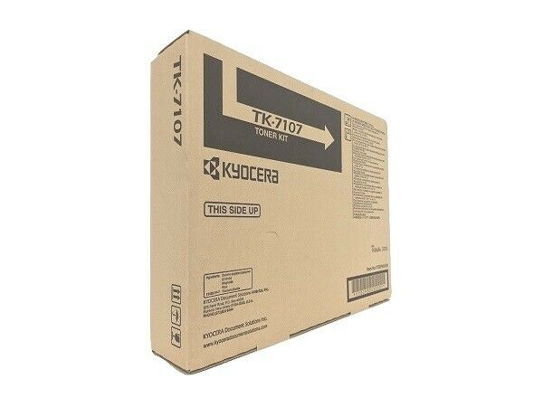 Kyocera TK-7107 Toner Cartridge - Black, OEM (1T02P80US0)
