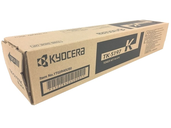 Kyocera TK-5197K Toner Cartridge - Black, OEM (TK-5197K)