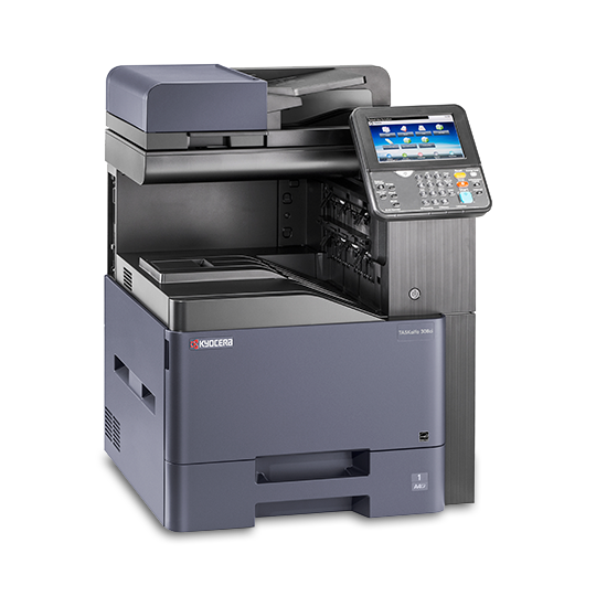 Kyocera TASKalfa 308ci Color Laser MFP, Fully Refurbished (Copystar CS 308ci)