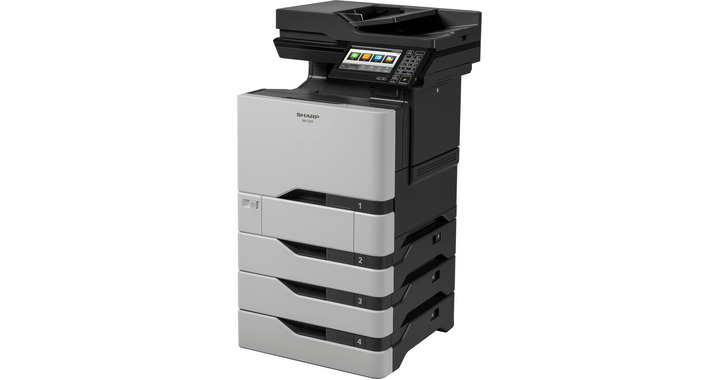 SharpMX-C407F Color Laser MFP, New (MX-C407F)
