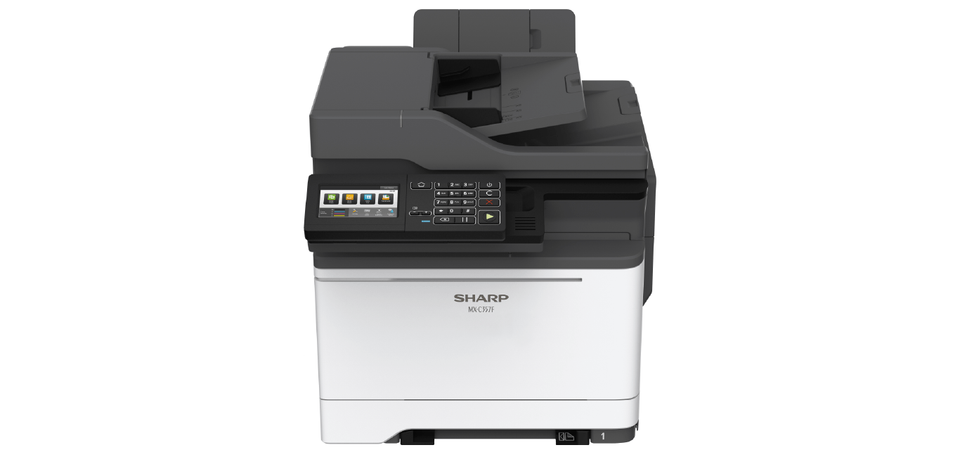 SharpMX-C357F Color Laser MFP, New (MX-C357F)
