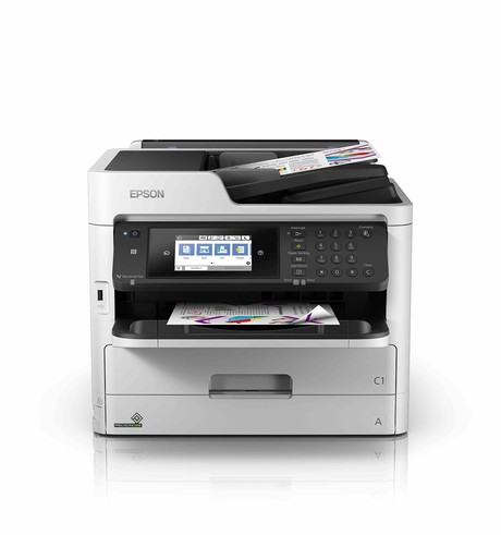 Epson WorkForce Pro WF-C5290 Color Inkjet Printer, Refurbished (C11CG05201)