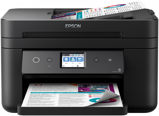 Epson WorkForce WF-2860 Color Inkjet MFP, Refurbished (C11CG28201)