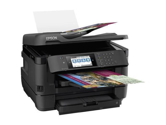 Epson ,WorkForce WF-7720, Color Wide Format, Refurbished (C11CG37201)