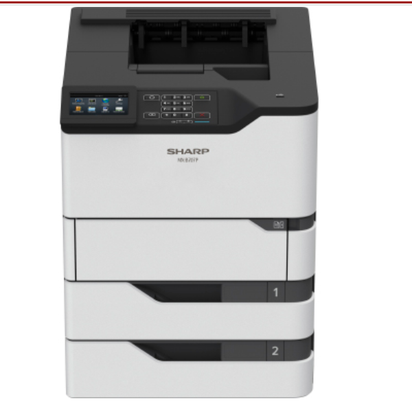SharpMX-B707P Mono Laser Printer, Refurbished (MX-B707P)