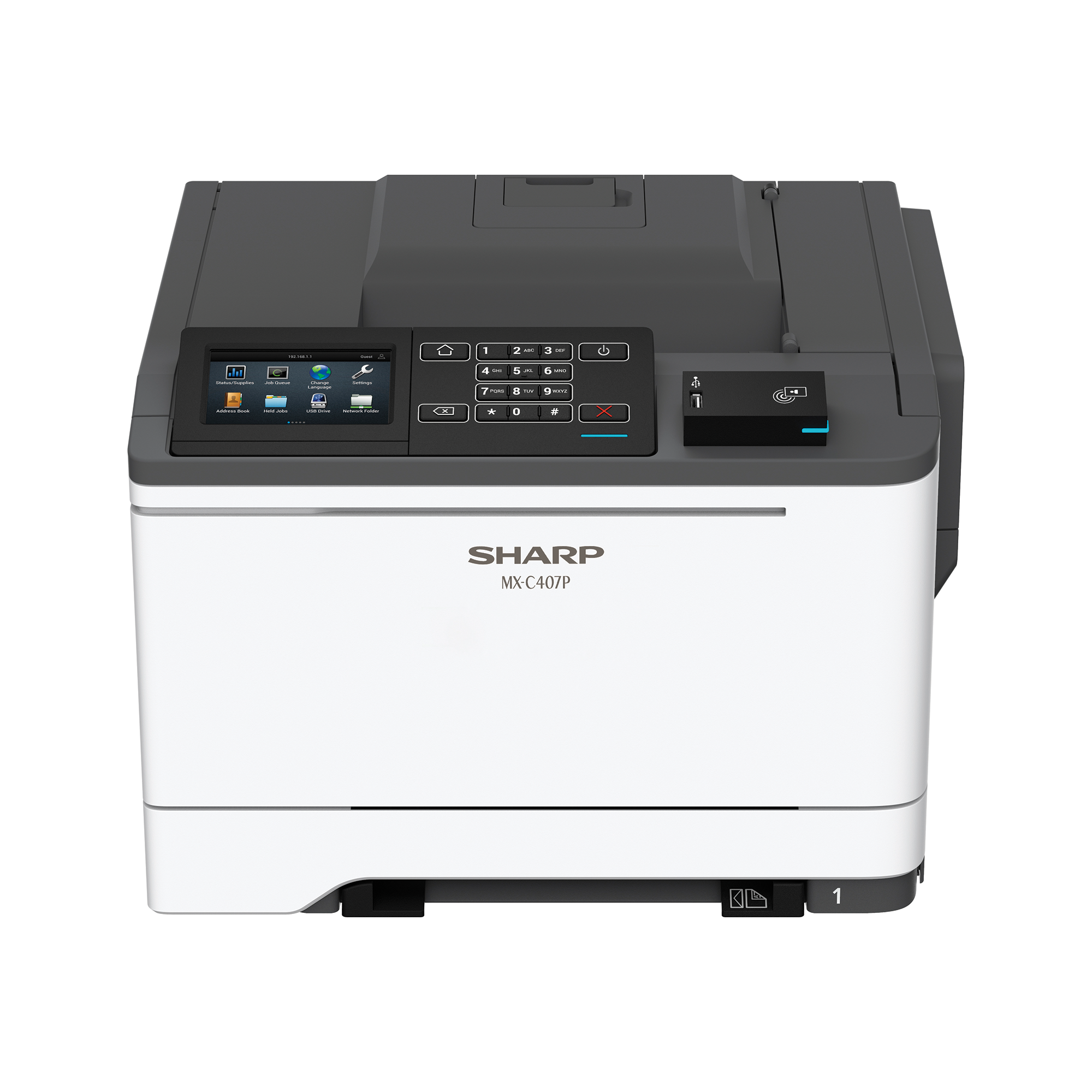 Sharp ,MX-C407P, Color Laser Printer, Refurbished (MX-C407P)