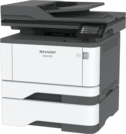 SharpMX-B427W Mono Laser MFP, Refurbished (MX-B427W)