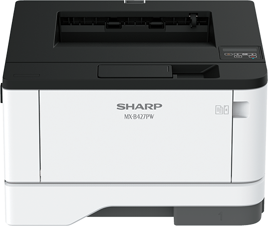 SharpMX-B427PW Mono Laser Printer, Refurbished (MX-B427PW)