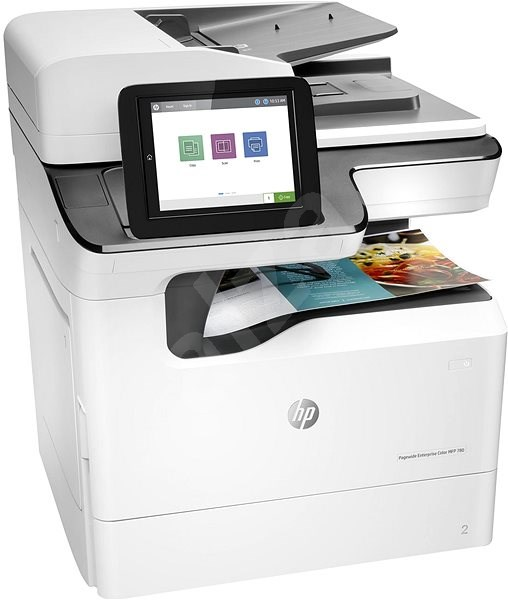 HP PageWide Enterprise Color MFP 780dn Color Laser MFP, New (J7Z09A)