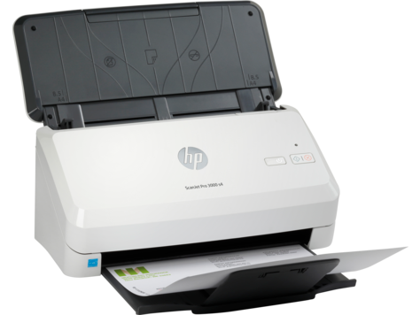 HP Scanjet Pro 3000 s4 Sheet-feed  Scanner, New (6FW07A)