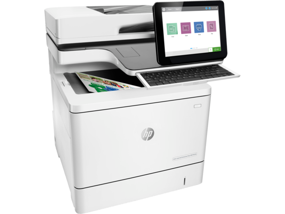 HP LaserJet Enterprise Flow MFP M578c Color Laser MFP, Demo (7ZU87A)