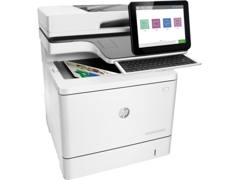 HP LaserJet Enterprise Flow MFP M578z Color Laser MFP, Refurbished (7ZU88A)