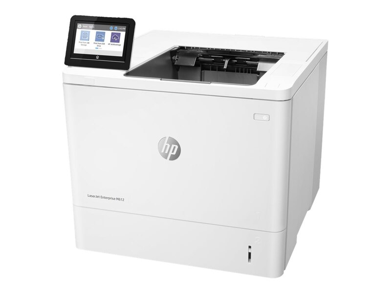 HP LaserJet Enterprise M612dn Mono Laser Printer, Refurbished (7PS86A)