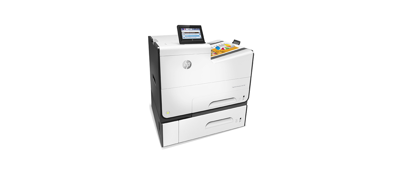 HP PageWide Enterprise Color 556xh Color Laser Printer, Refurbished (G1W47A)