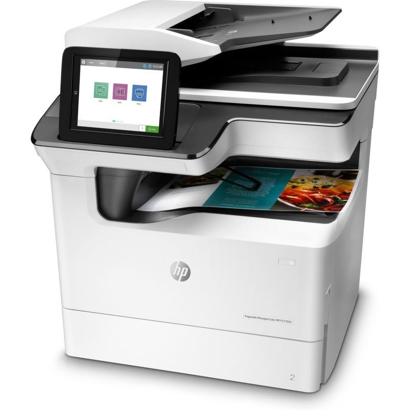 HP PageWide Managed Color MFP E77650dn Color Laser MFP, Demo (J7Z13A)