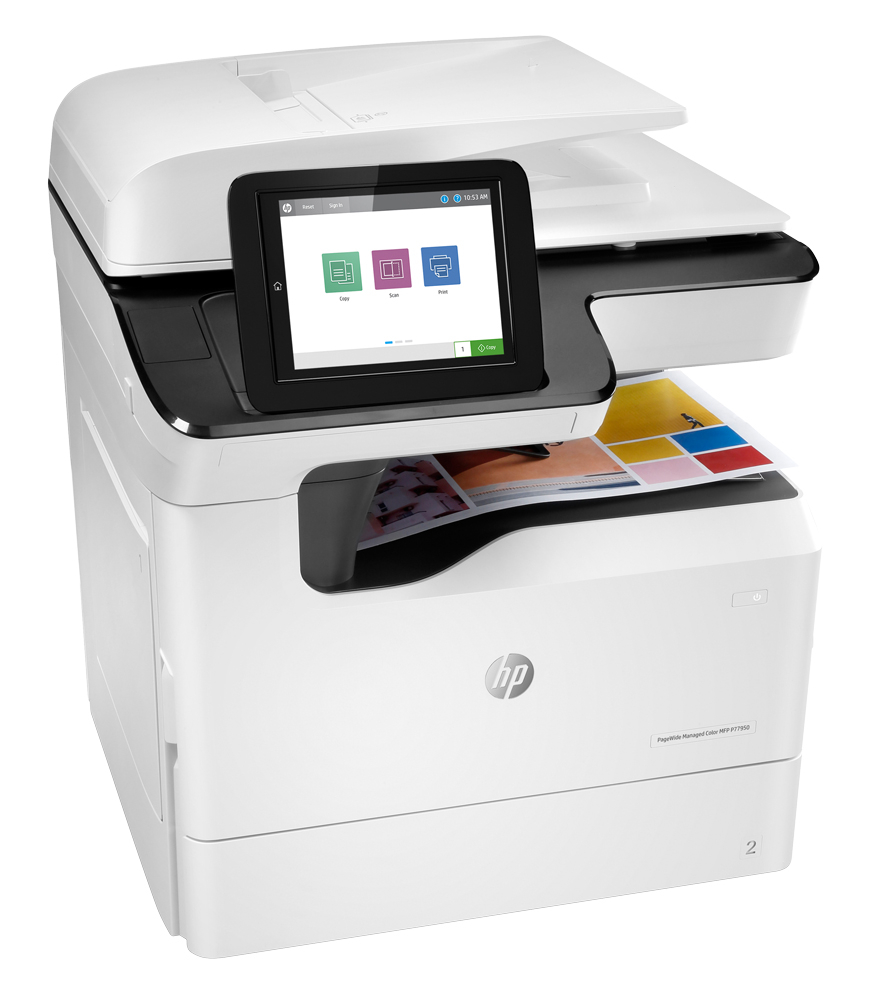 HP PageWide Managed Color MFP E77660dn Color Laser MFP, Demo (Z5G77A)