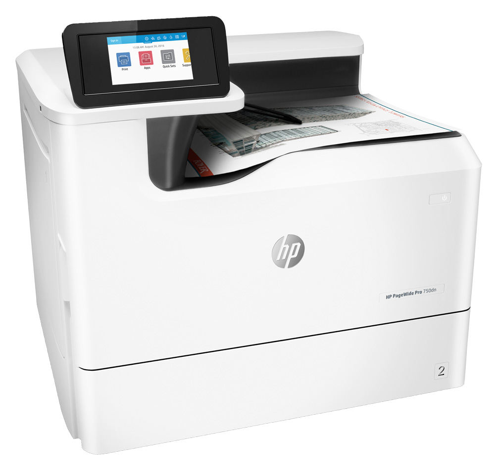 HP PageWide Pro 750dn Color Laser Printer, Demo (Y3Z44D)