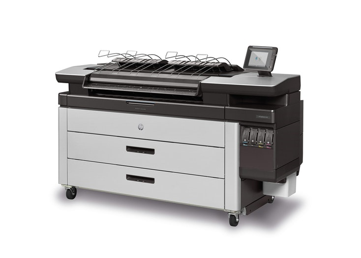 HP PageWide XL 4100 40-in Printer with Top Stacker , Demo (J2V01A)