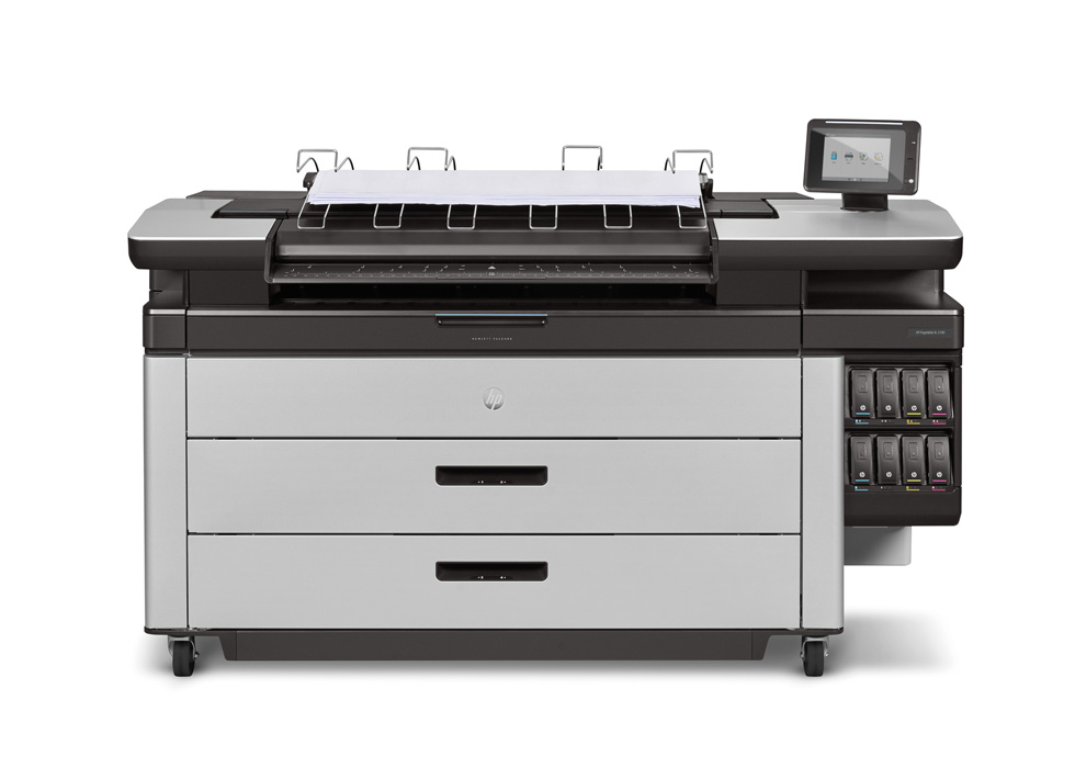 HP PageWide XL 5100 MFP with Top Stacker , Demo (2RQ08C)
