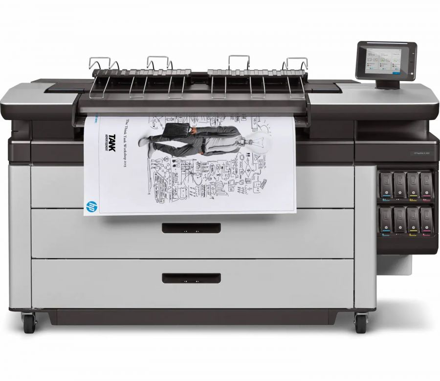 HP PageWide XL 6000 MFP , Demo (2RQ10B)