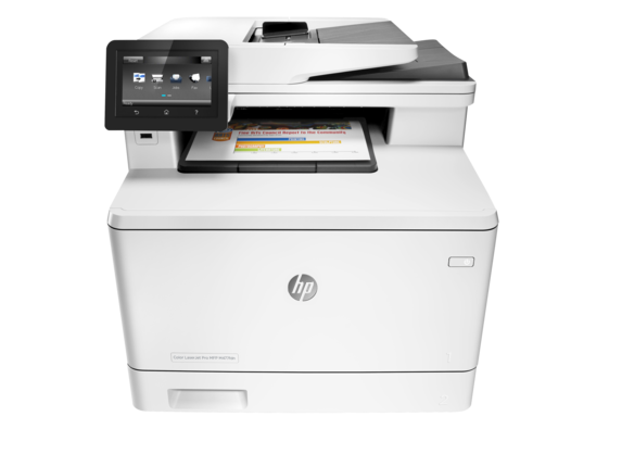 HP Color LaserJet Pro M477fdn Color Laser MFP, Refurbished (CF378A)