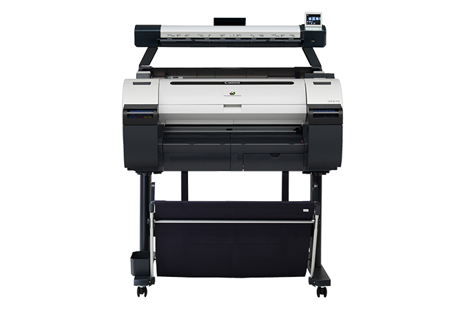 Canon imagePROGRAF iPF670 MFP L24 Color Plotter, New (9854B014)