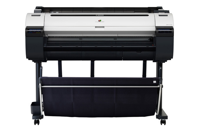 Canon imagePROGRAF iPF770 Color Plotter, New (9856B002)