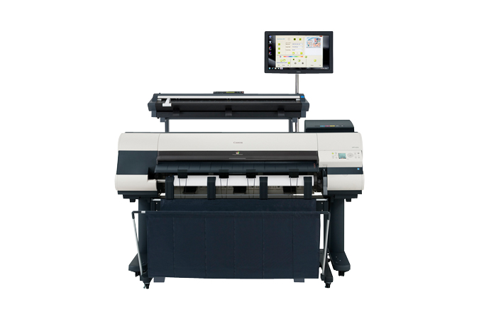 Canon imagePROGRAF iPF815 MFP Color Plotter, New (4836B023)