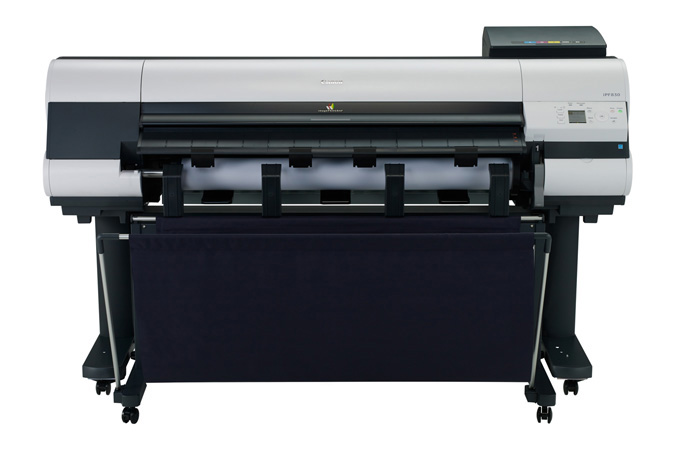Canon imagePROGRAF iPF830 Color Plotter, New (0005C002)