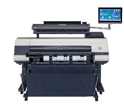 Canon imagePROGRAF iPF840 MFP M40 Color Plotter, New (0007C008)