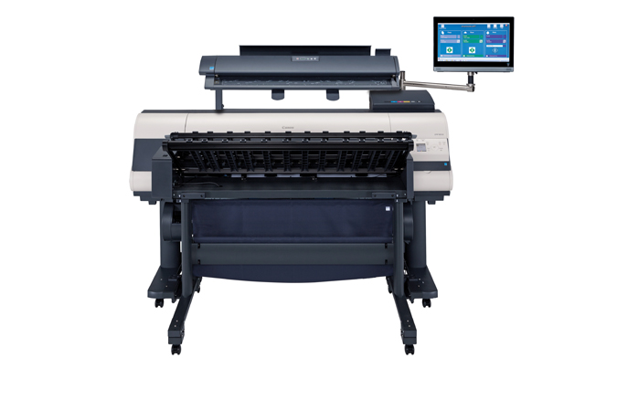 Canon imagePROGRAF iPF850 MFP M40 Color Plotter, New (0009C007)
