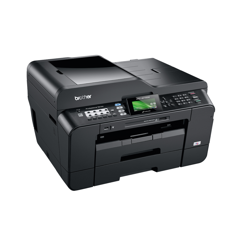 Brother MFC-J6710DW Color Inkjet MFP, Fully Refurbished (MFC-J6710DW)