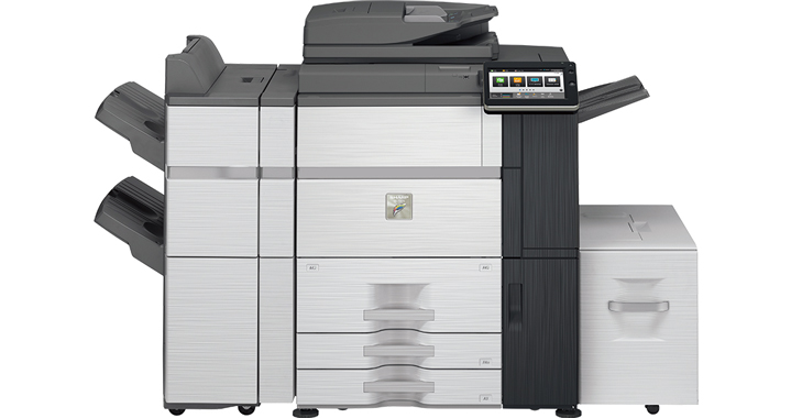 Sharp MX-7580N Color Wide MFP, Refurbished (MX-7580N)