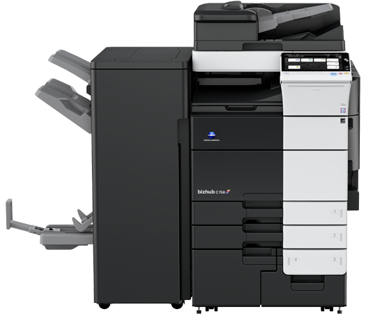 Konica Minolta BizHub C759 Color Wide MFP, New (BizHub-C759)